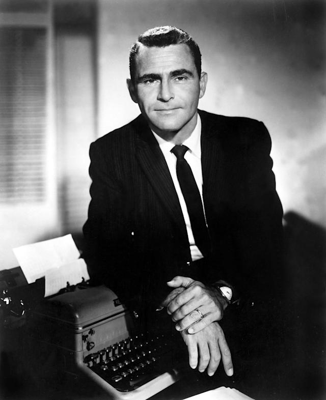 Serling created some of the greatest sci-fi stories ever televised on 'The Twilight Zone' (Photo: Everett Collection)