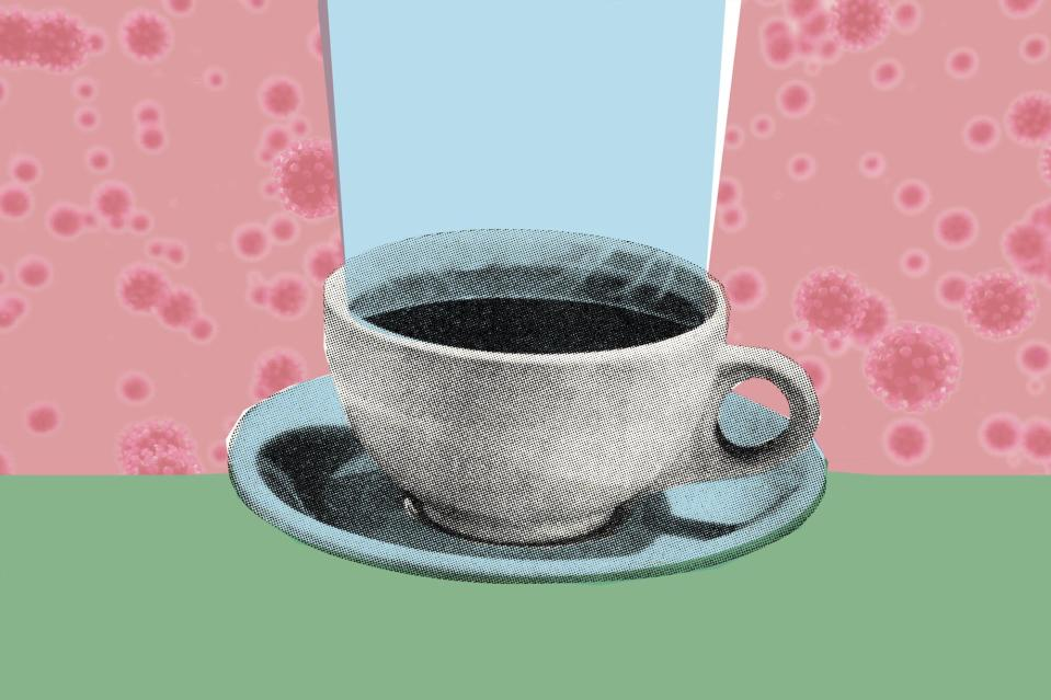 Is coffee consumption linked to a lower risk of COVID-19 infection?