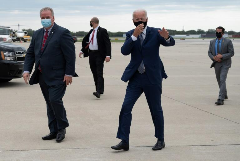 Biden meets family of African American shot by police
