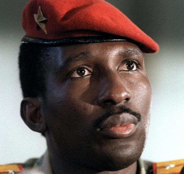 'Africa's Che Guevara': The Thomas Sankara cult remains strong, 30 years after his assassination (AFP Photo/)