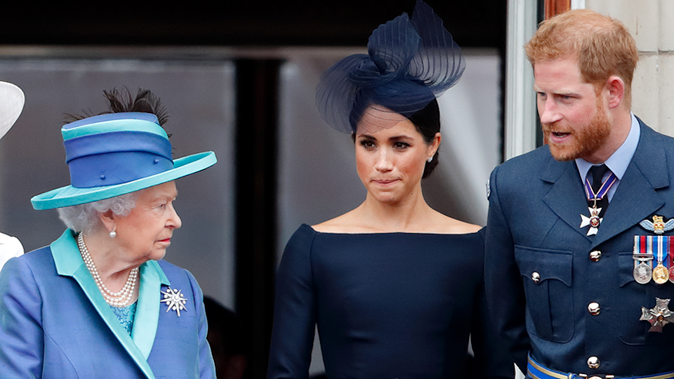 The Queen Meghan and Harry