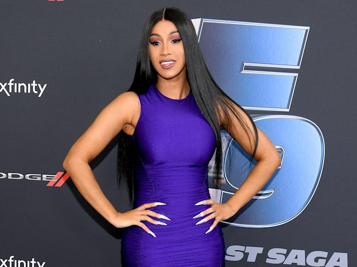 "<p>File image: Cardi B attends ""The Road to F9"" Global Fan Extravaganza</p> (Getty Images)"