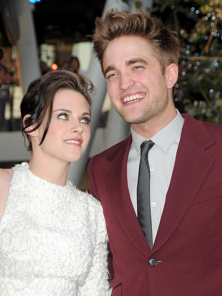 """<i>Look</i> reports that Robert Pattinson and Kristen Stewart want to have a voodoo wedding sometime before the end of the year. A source tells the magazine, """"Kristen is quite dark so she wants a ceremony performed by a New Orleans voodoo priestess"""" in December. And instead of matching rings, Pattinson and Stewart are going to get matching tattoos on their hips. For more shocking details about the wedding, log on to <a href=""""http://www.gossipcop.com/voodoo-wedding-robert-pattinson-kristen-stewart/"""" target=""""new"""">Gossip Cop</a>. Jordan Strauss/<a href=""""http://www.wireimage.com"""" target=""""new"""">WireImage.com</a> - June 24, 2010"""