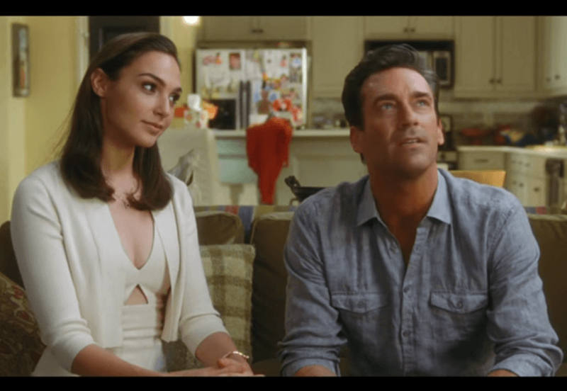 Jon Hamm And Gal Gadot Are Sexy Suburban Spies In Keeping Up With The Joneses,What Color Goes With Purple And Yellow
