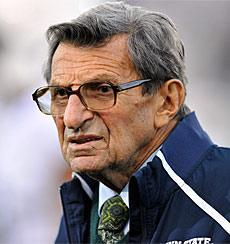 "The Pennsylvania attorney general said Penn State coach Joe Paterno is ""not regarded as a target at this point"" in the Jerry Sandusky case"