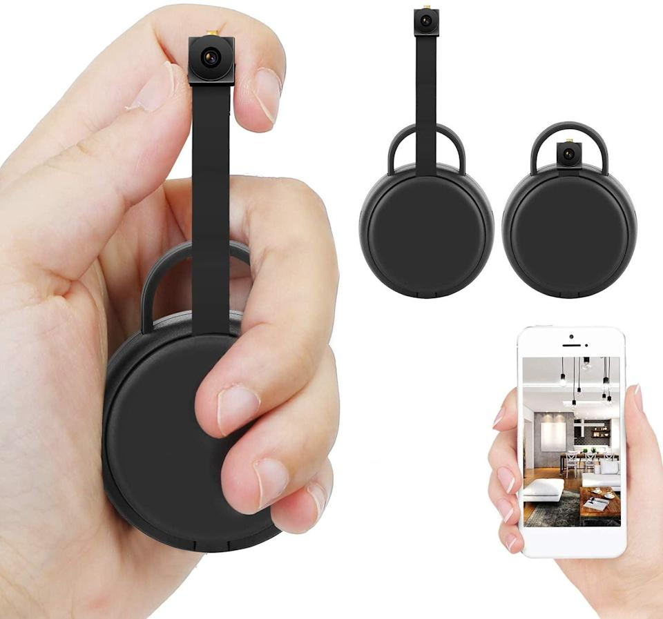 <p>This <span>Fulao Wireless Mini Hidden Camera</span> ($46) covers a lot of ground, allowing you to remotely view any room when you're away.</p>