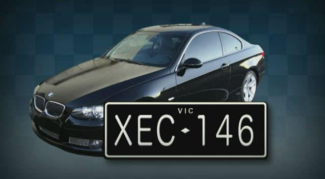 Melbourne woman bound with a phone charger cord before bandit fled in her BMW. Photo: 7News