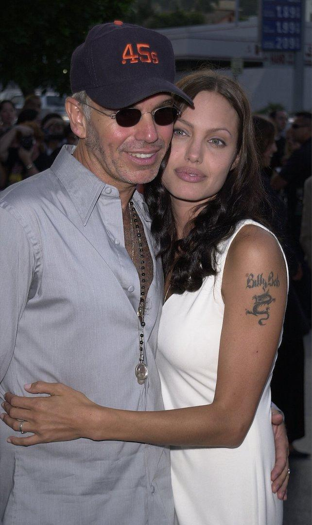 Angelina Jolie pictured with ex-husband Billy Bob Thornton [Photo: Getty]
