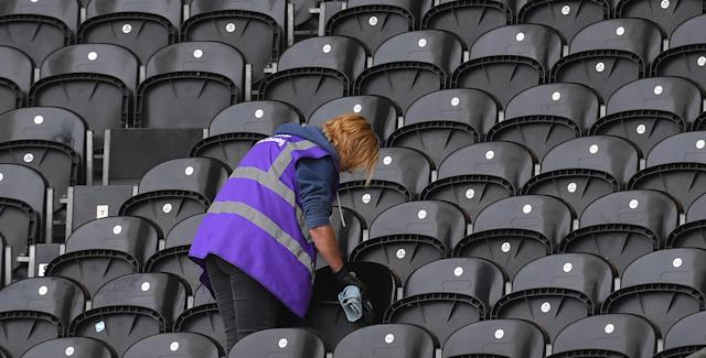 Switzerland's cleaners can earn over £40,000 per year. Photo: Dave Howarth/EMPICS Sport