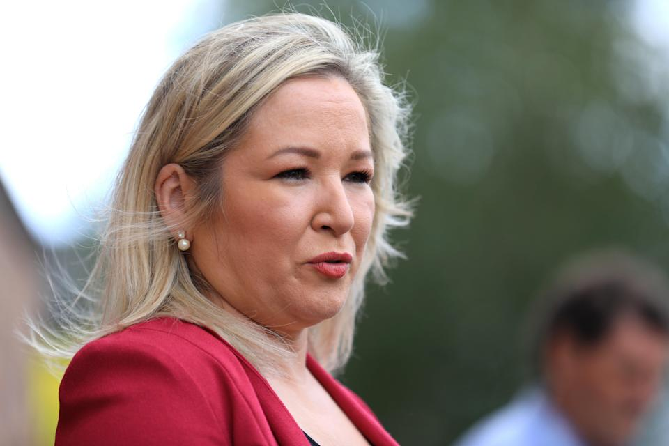 Michelle O'Neill said she is self-isolating after contracting Covid-19 (PA Wire)