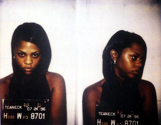 Lil' Kim mug shot. (Photo: Getty)