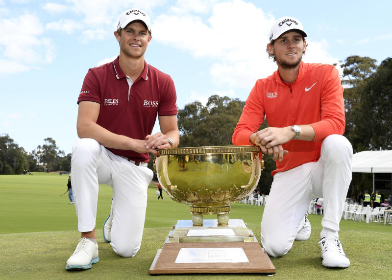 Pieters, Detry claim Belgiums first World Cup of Golf title