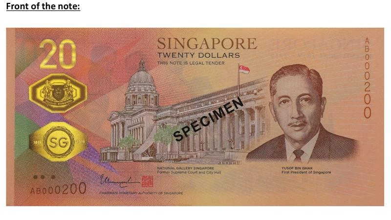 New $20 note launched to commemorate Bicentennial
