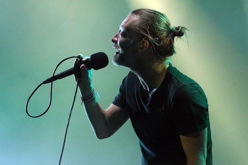 NEW YORK, NY - JULY 10: Thom Yorke of Radiohead performs at Madison Square Garden on July 10, 2018 in New York City. (Photo by Taylor Hill/Getty Images)