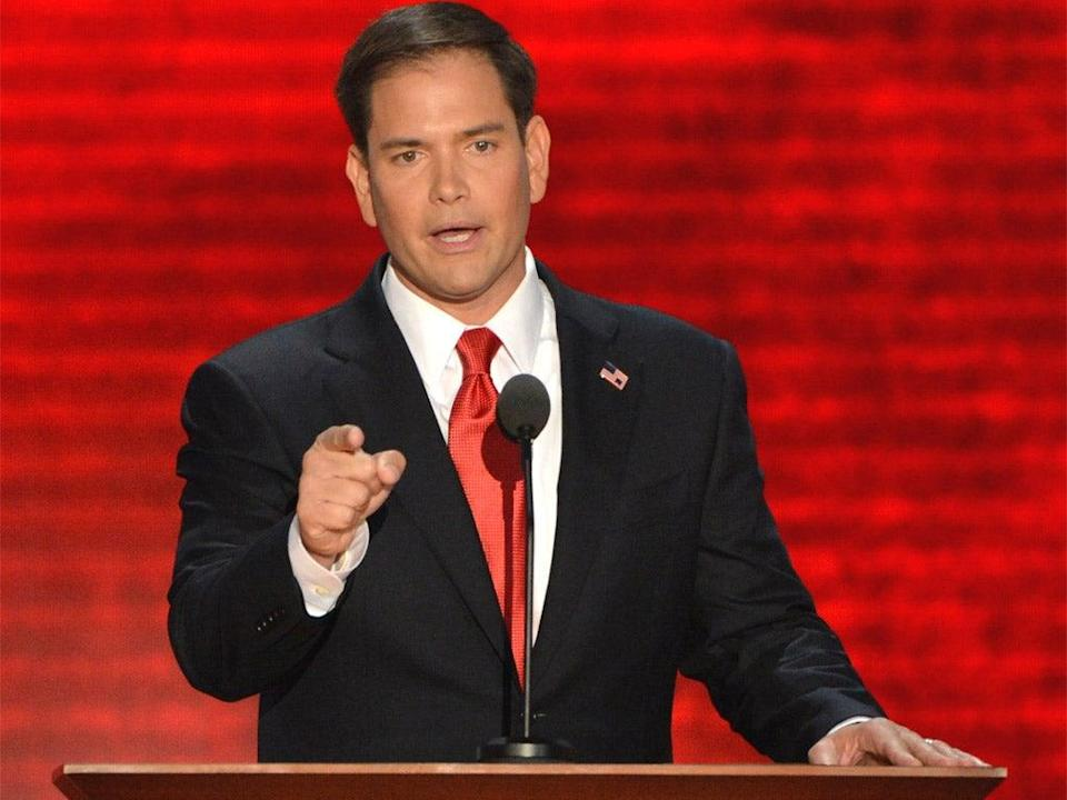 <p>Florida Senator Marco Rubio was scheduled to give opening remarks at CPAC on Saturday</p> (Getty Images)