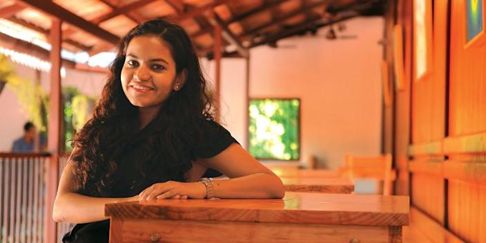 Make A Difference (MAD), Gloria Benny. Picture courtesy: Outlook Business