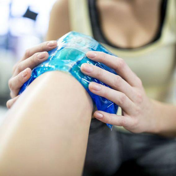 <p>Inflammation can be one of the reasons muscles get sore and icing it can help reduce the soreness. Just make sure to not keep the ice pack for too long. </p>