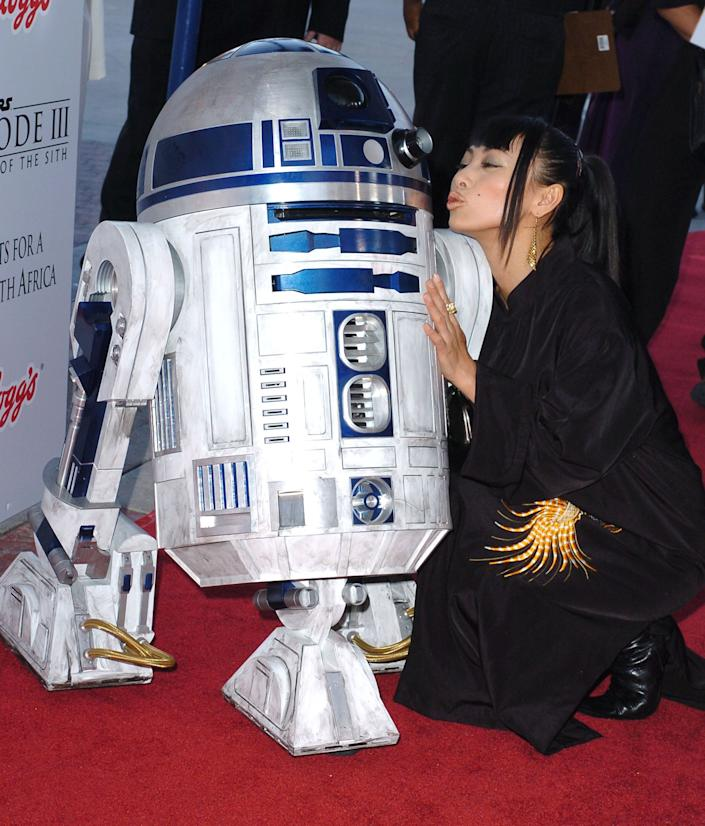 Bai Ling during 'Star Wars: Episode III - Revenge of The Sith' Premiere to Benefit Artists for a New South Africa Charity - Arrivals at Mann's Village Theater in Westwood, CA, United States. (Photo by SGranitz/WireImage)