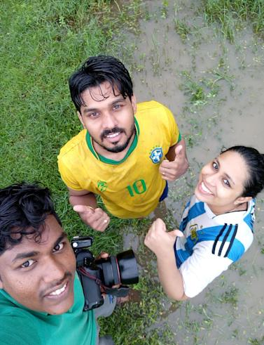 Thrissur-based newly married couple Roshan and Monisha are on cloud nine after their World Cup-themed wedding photoshoot went viral on social media...