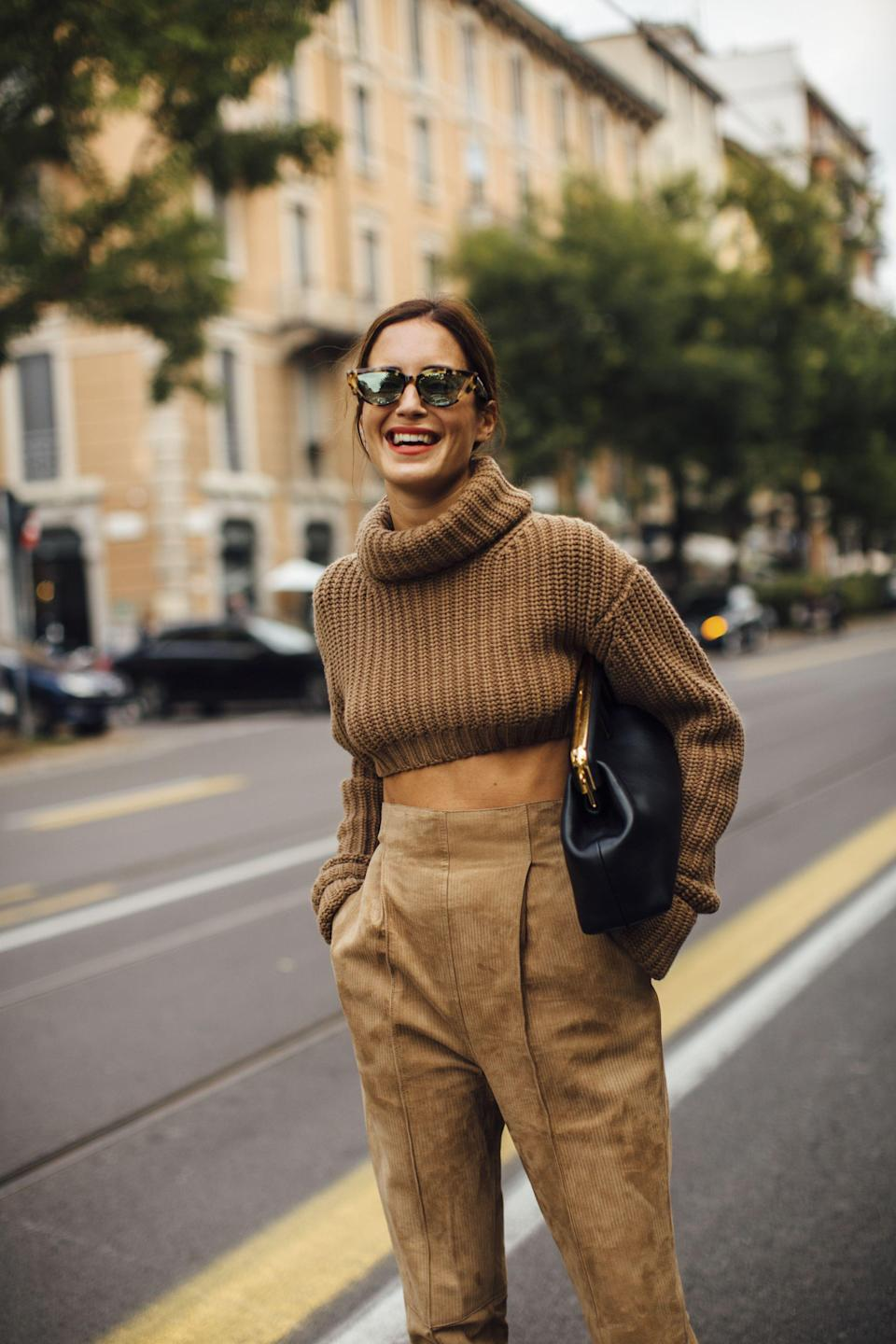 <p>From dad trainers to tiny handbags, puffer jackets through to cowboy boots and mini-skirts, Milan Fashion Week is sure to deliver when it comes to inspiration for next season's show-stopping wardrobe choices from the fashion elite.</p><p>We take a look at the street styles taking our SS22 pieces to the next level.</p>