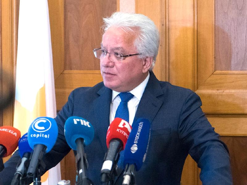 Cypriot Justice Minister Ionas Nicolaou has resigned over authorities' handling of the cases (AFP Photo/STAVROS IOANNIDES)