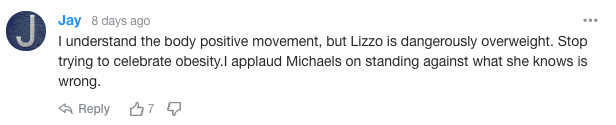 Yahoo readers weigh in on Jillian Michaels's Lizzo comments