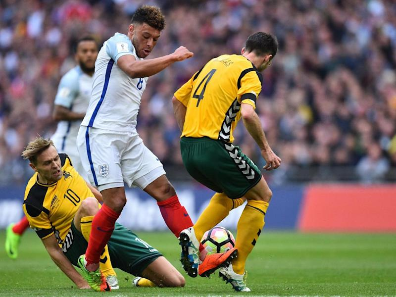 Southgate may have preferred to start with Ross Barkley (Getty)