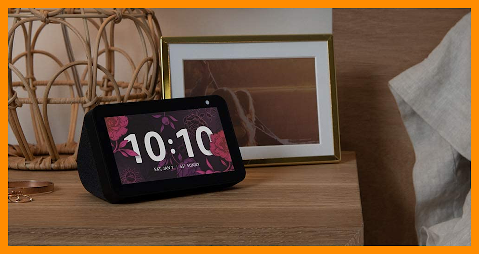 Save 50 percent on this Echo Show 5! (Photo: Amazon)