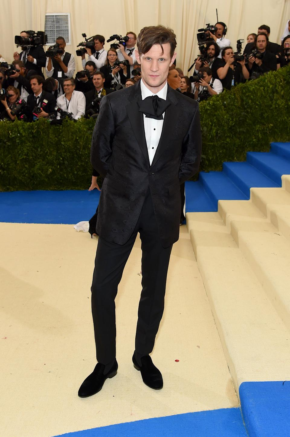 """<h1 class=""""title"""">Matt Smith in Burberry</h1><cite class=""""credit"""">Photo: Getty Images</cite>"""