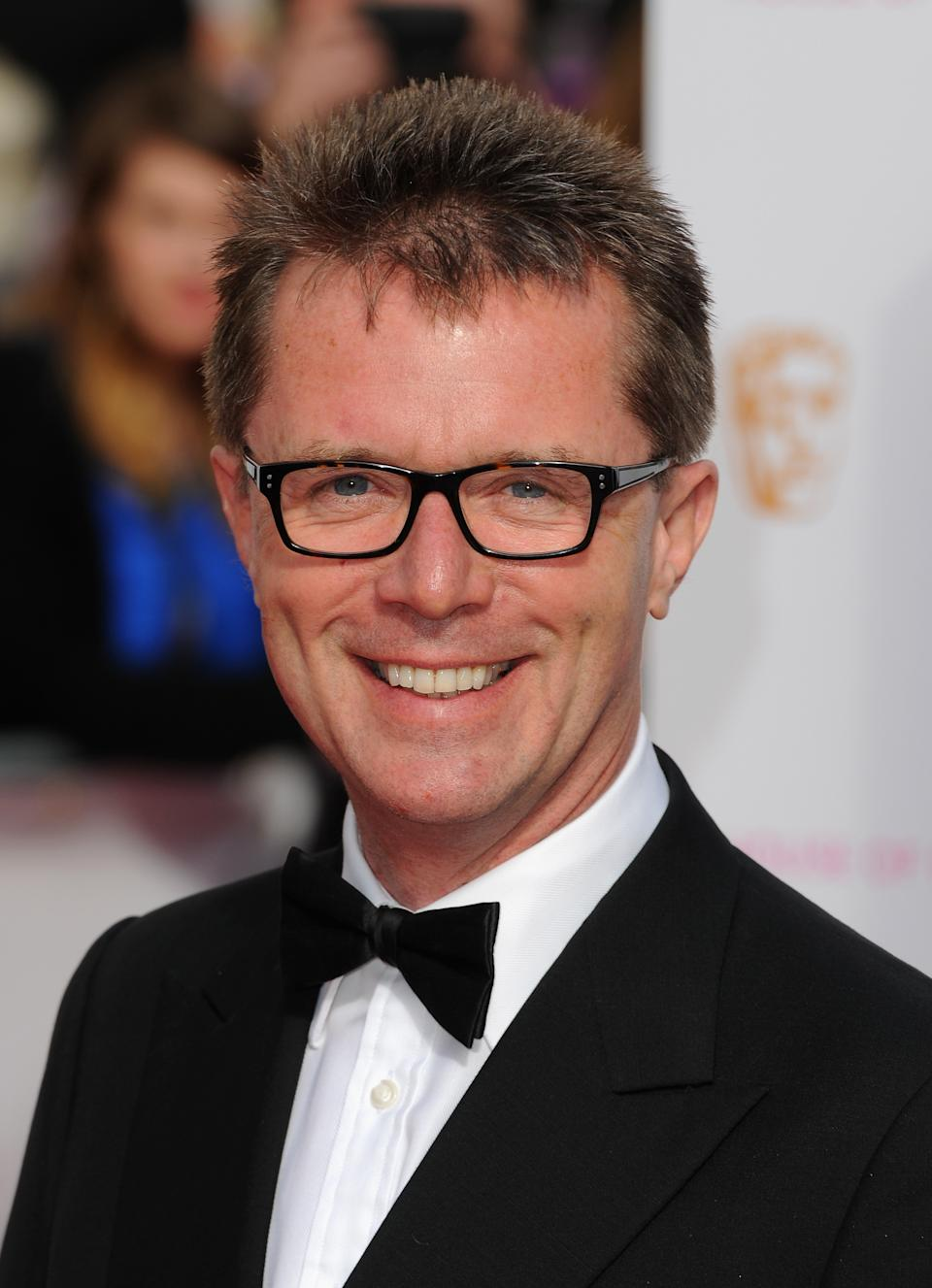 LONDON, ENGLAND - MAY 10:  Nicky Campbell attends the House of Fraser British Academy Television Awards at Theatre Royal on May 10, 2015 in London, England.  (Photo by Eamonn McCormack/WireImage)