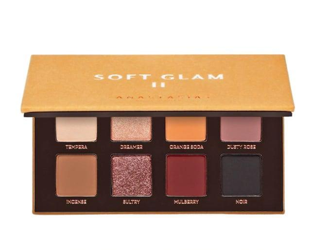 <p>Every makeup collection needs a good, neutral-toned eyeshadow palette. The <span>Anastasia Beverly Hills Soft Glam II Mini Eye Shadow Palette</span> ($29) allows you to create a variety of makeup looks as it features eight wearable colors. </p>