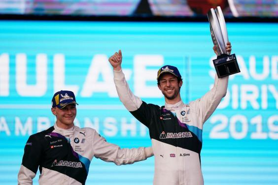 Sims leads a championship that has three British drivers in the top four (LAT Images)