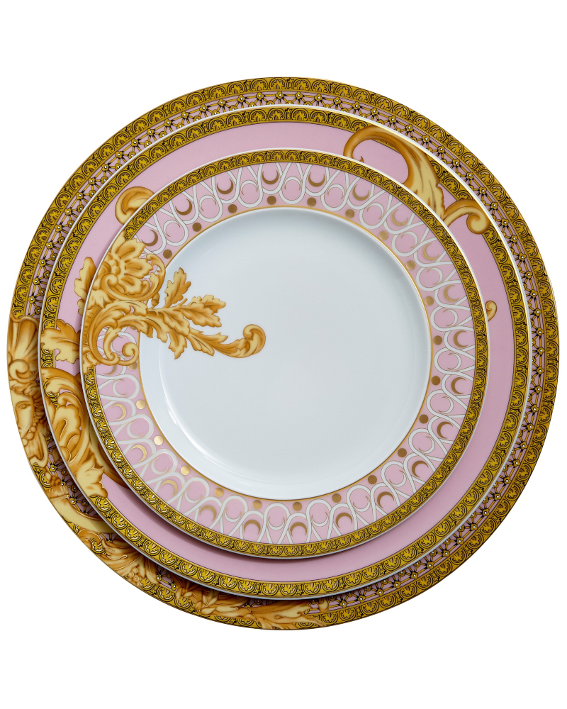 "<p><strong>Versace for Rosenthal</strong></p><p>jungleeny.com</p><p><strong>$145.00</strong></p><p><a href=""http://jungleeny.com/collections/byzantine-dreams/byzantine-dreams-dinner-plate.html"" rel=""nofollow noopener"" target=""_blank"" data-ylk=""slk:BUY NOW"" class=""link rapid-noclick-resp"">BUY NOW</a></p><p> The detail on this <a href=""http://jungleeny.com/collections/byzantine-dreams.html"" rel=""nofollow noopener"" target=""_blank"" data-ylk=""slk:Versace dinnerware"" class=""link rapid-noclick-resp"">Versace dinnerware</a> is exactly what you need for an elegant holiday dinner, and the pop of pink gives it a fun, unique edge over the usual Thanksgiving fare. </p>"