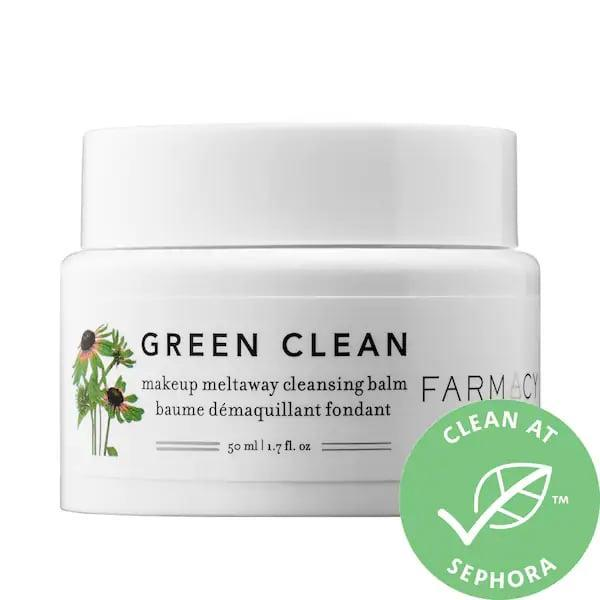 "<p>This creamy <span>Farmacy Green Clean Makeup Removing Cleansing Balm</span> ($22-$34) has more than 3,300 5-star reviews attesting to the hard work it does removing makeup. It starts as a balm before changing into an oil and then into milky lather so all makeup can be removed with no residue left behind. Of course, the classic version is rather popular, but there's also a limited-edition <span>Farmacy Very Cherry Clean Makeup Removing Cleansing Balm</span> ($34) alternative now, too.<br><br><em>Love all things beauty? Can't get enough products? Come join our Facebook Group, <a href=""https://www.facebook.com/groups/389401751481325/"" class=""link rapid-noclick-resp"" rel=""nofollow noopener"" target=""_blank"" data-ylk=""slk:Real Reviews With POPSUGAR Beauty""><span class=""s1"">Real Reviews With POPSUGAR Beauty</span></a> There are lots of fun conversations happening there, as well as all the product recommendations you could ask for - not just from us, but also community members, too.</em></p>"