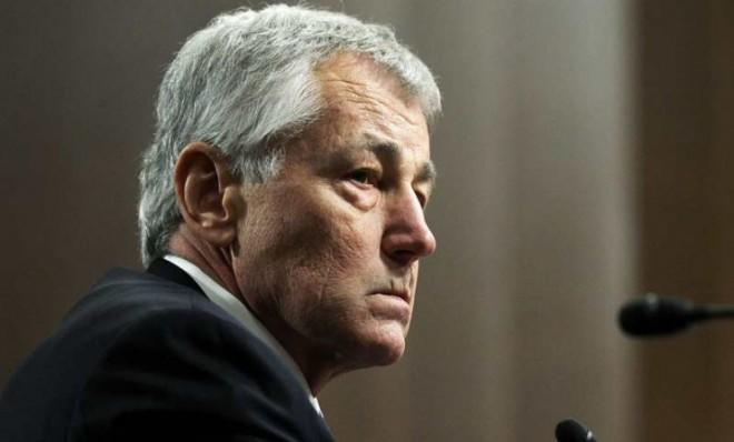 Things are not going well for Chuck Hagel...