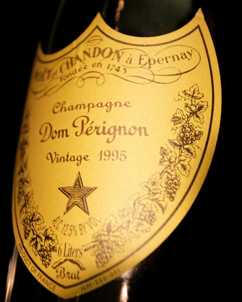 Rare bottles of champagne can fetch very high prices.