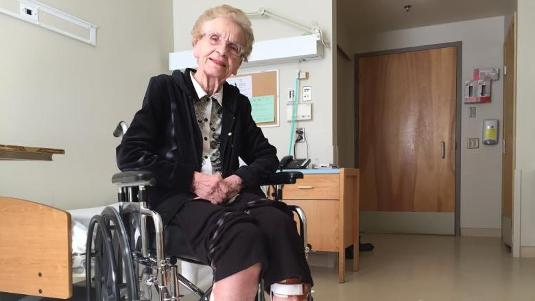 Saskatoon woman, 88, hit by bus speaks out after another injured at same spot