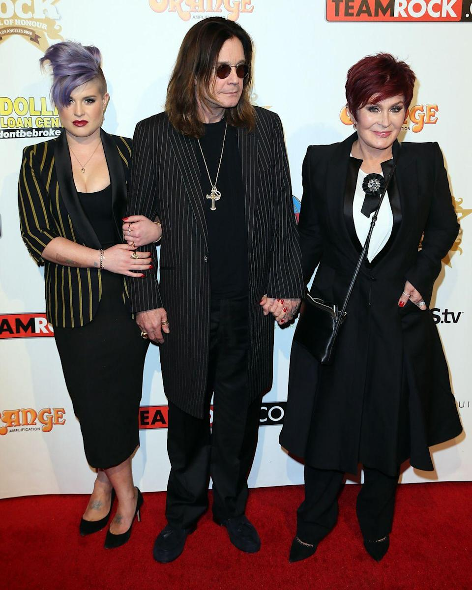 """<p><strong>Famous parent(s)</strong>: Black Sabbath frontman Ozzy Osbourne and <em>The Talk </em>co-host Sharon Osbourne<br><strong>What it was like</strong>: """"I've been famous since the day I was born within the rock'n'roll world and I've been famous since my teens because of <em>The Osbournes</em>,"""" she's <a href=""""http://www.dailymail.co.uk/home/you/article-2586126/Kelly-Osbourne-Ten-years-ago-I-didnt-think-Id-alive-today.html"""" rel=""""nofollow noopener"""" target=""""_blank"""" data-ylk=""""slk:said"""" class=""""link rapid-noclick-resp"""">said</a>. """"I woke up one day and was one of the most well-known 16-year-olds in the world and it scared me—it literally happened overnight.""""</p>"""