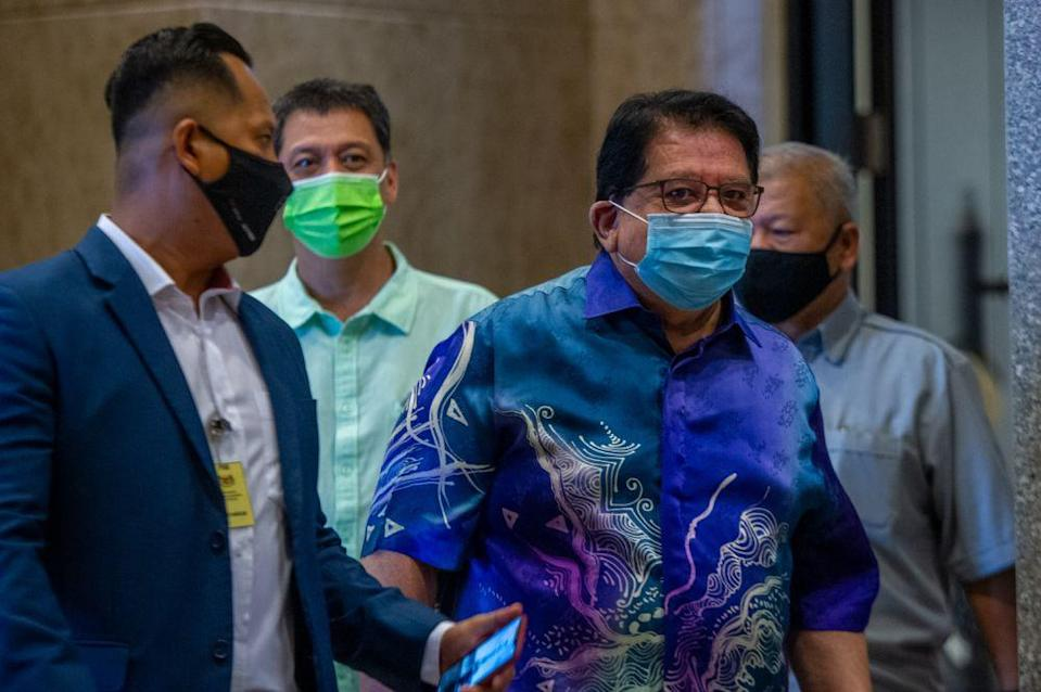 Datuk Seri Tengku Adnan Tengku Mansor posted on Facebook that DAP MP Tony Pua should look at his own associates in the Pakatan Harapan (PH) coalition before making such claims. — Picture by Shafwan Zaidon