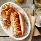 <p>Shock everyone with this recipe for veggie dogs that actually taste like hot dogs. They're an amazing (and healthy!) vegan alternative to traditional meat hot dogs. Serve in whole-wheat hot dog buns and top with all your favorite toppings, such as sauerkraut, relish, ketchup and mustard, for the ultimate barbecue meal.</p>
