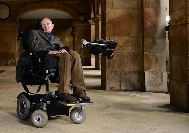 Stephen Hawking was diagnosed with a debilitating motor neuron disease when he was 21. He went on to become one of the world's most prominent scientists.