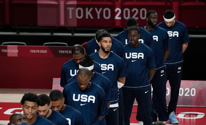 Tokyo Olympics Basketball (Copyright 2021 The Associated Press. All rights reserved.)
