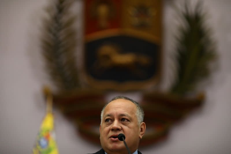 Venezuela Constituent Assembly will not draft new magna carta, Cabello says