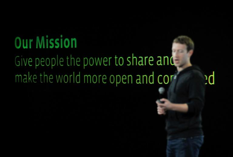"""Facebook CEO Mark Zuckerberg is seen in 2013 explaining his mission """"to make the world more open and connected"""""""