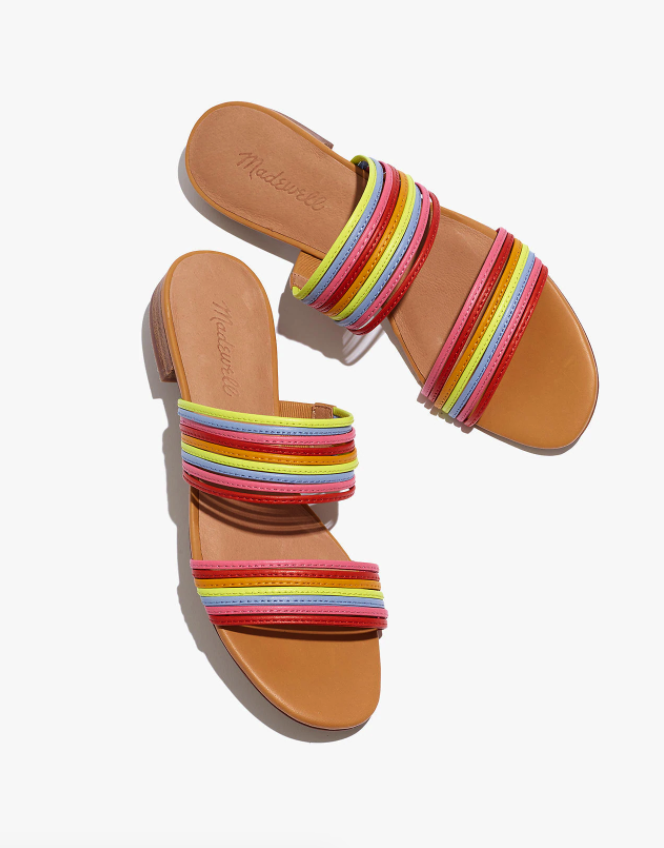 """<br> <br> <strong>Madewell</strong> The Meg Slide Sandal in Leather, $, available at <a href=""""https://go.skimresources.com/?id=30283X879131&url=https%3A%2F%2Fwww.madewell.com%2Fthe-meg-slide-sandal-in-leather-AH722.html"""" rel=""""nofollow noopener"""" target=""""_blank"""" data-ylk=""""slk:Madewell"""" class=""""link rapid-noclick-resp"""">Madewell</a>"""