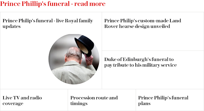 Prince Philip: his funeral