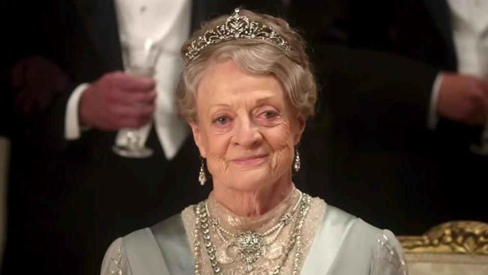 Maggie Smith in the 'Downton Abbey' movie. (Credit: Universal/Focus Features)