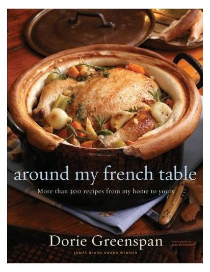 """Photo by: Courtesy Image<br>Around My French Table, by Dorie Greenspan-<br>Called a """"culinary guru"""" by The New York Times, Dorie Greenspan is the award-winning author of nine cookbooks, most of them on baking. They all shine, thanks to vivid stories, sumptuous recipes, and witty writing. <br> <br> <b>More from <a href=""""http://www.epicurious.com?mbid=synd_yshine"""" rel=""""nofollow noopener"""" target=""""_blank"""" data-ylk=""""slk:Epicurious"""" class=""""link rapid-noclick-resp"""">Epicurious</a>:</b> <br> <br> <b>• <a href=""""http://www.epicurious.com/articlesguides/everydaycooking/tastetests/salsatastetest?mbid=synd_yshine"""" rel=""""nofollow noopener"""" target=""""_blank"""" data-ylk=""""slk:Taste Test: Salsa"""" class=""""link rapid-noclick-resp"""">Taste Test: Salsa</a></b> <br> <b>• <a href=""""http://www.epicurious.com/articlesguides/bestof/toplists/bestgadgets_knife?mbid=synd_yshine"""" rel=""""nofollow noopener"""" target=""""_blank"""" data-ylk=""""slk:The Top 10 Must-Have Gadgets"""" class=""""link rapid-noclick-resp"""">The Top 10 Must-Have Gadgets</a></b> <br> <b>• <a href=""""http://www.epicurious.com/articlesguides/bestof/toplists/bestchefs_thomaskeller?mbid=synd_yshine"""" rel=""""nofollow noopener"""" target=""""_blank"""" data-ylk=""""slk:The World's Most Influential Chefs"""" class=""""link rapid-noclick-resp"""">The World's Most Influential Chefs</a></b> <br> <b>• <a href=""""http://www.epicurious.com/articlesguides/bestof/toplists/nextmarthabeekmanboys?mbid=synd_yshine"""" rel=""""nofollow noopener"""" target=""""_blank"""" data-ylk=""""slk:The Next Martha Stewarts"""" class=""""link rapid-noclick-resp"""">The Next Martha Stewarts</a></b>"""