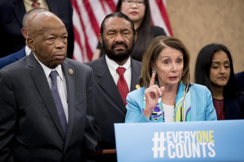 House Minority Leader Nancy Pelosi (D-Calif.) is likely to retake the gavel as speaker of the House, while Rep. Elijah Cummings (D-Md.) will take the powerful role of chairman of the House Committee on Oversight and Government Reform. (ASSOCIATED PRESS)