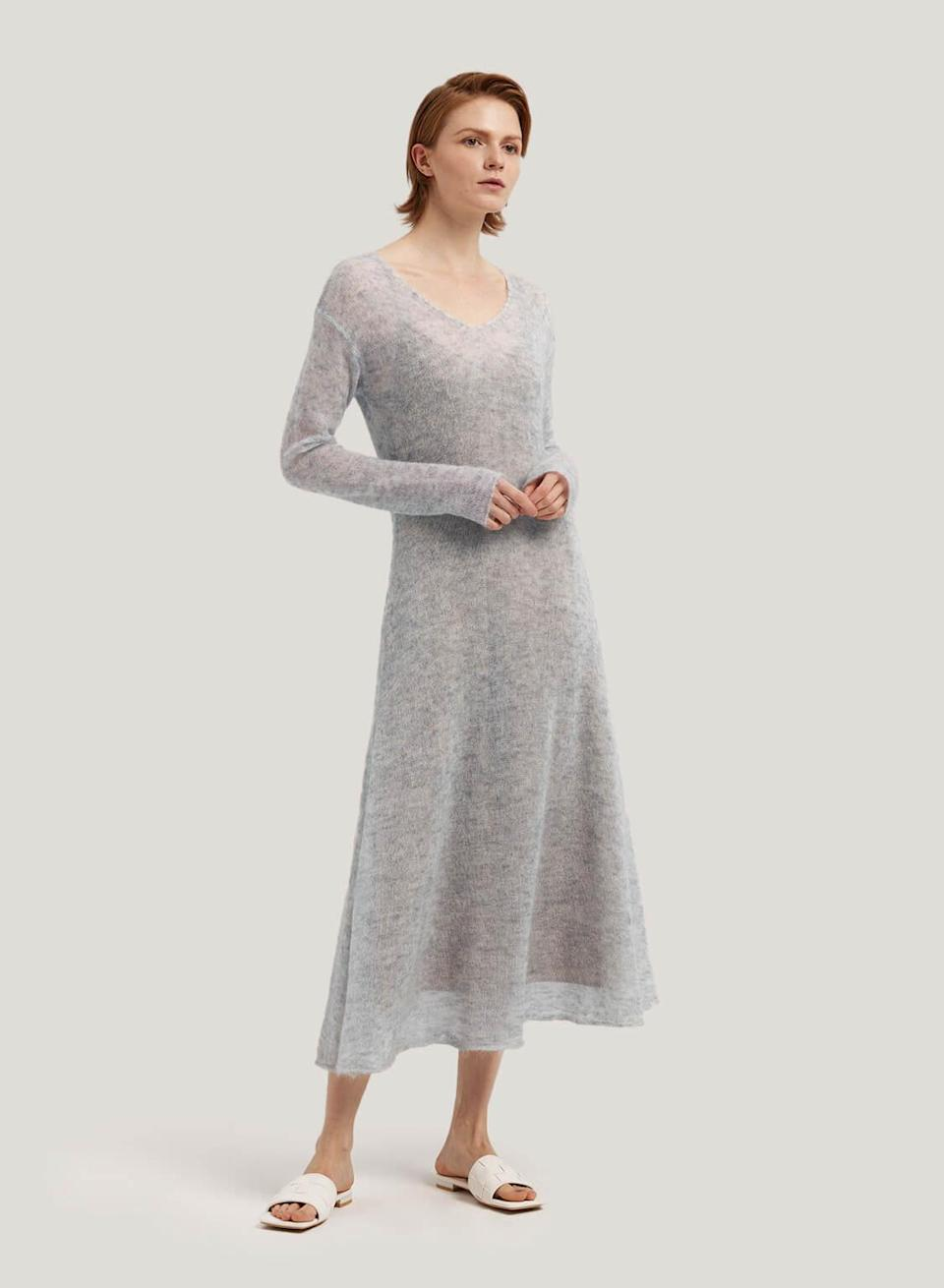 """<h2>Gentle Herd Mesh Overlay Maxi Dress</h2><br><em><strong>The Mesh Dress</strong></em><br><br>Crafted from the dreamiest of materials, this sleek dress hits the style trifecta: soft, sophisticated, seasonless. <br><br><strong>The Hype: </strong>4.8 out of 5 stars; 106 reviews on GentleHerd.com<br><br><strong>What They're Saying</strong>: """"So happy with this purchase. Item as described. Great quality & fast delivery."""" — Athena Toynbee, Gentle Herd reviewer<br><br><em>Shop</em> <em><a href=""""https://gentleherd.com/product/mesh-overlay-maxi-dress/"""" rel=""""sponsored"""" target=""""_blank"""" data-ylk=""""slk:Gentle Herd"""" class=""""link rapid-noclick-resp""""><strong>Gentle Herd</strong></a></em><br><br><strong>Gentle Herd</strong> Mesh Overlay Maxi Dress, $, available at <a href=""""https://go.skimresources.com/?id=30283X879131&url=https%3A%2F%2Fgentleherd.com%2Fproduct%2Fmesh-overlay-maxi-dress%2F"""" rel=""""sponsored"""" target=""""_blank"""" data-ylk=""""slk:Gentle Herd"""" class=""""link rapid-noclick-resp"""">Gentle Herd</a>"""
